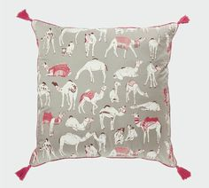 Different Camels Cushion Cover