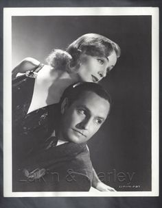 Original CAROLE LOMBARD 1937 NOTHING SACRED w/ Frederic March portrait & snipe