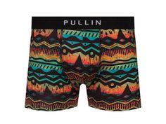 Uomo Boxershorts Hipster Pants Shorts Trunk Mutande printed Mens Boxer lettera