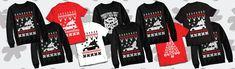 Our Holiday season t-shirts and sweatshirts now awailable at Sickdecal.com ! Seasons, Sweatshirts, Holiday, T Shirt, Clothes, Supreme T Shirt, Outfits, Vacations, Tee Shirt