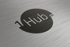 Progettazione logo compagnia telefonica.- 1Hub Ltd #logo #LogoDesign #grafica #company