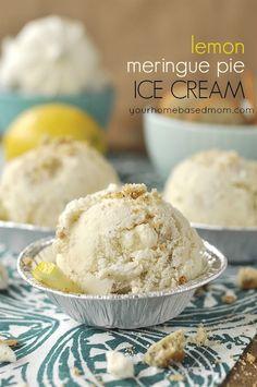 lemon meringue pie ice cream