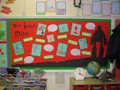 The Iron Man classroom display photo - Photo gallery - SparkleBox
