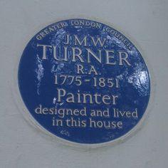 Blue plaque #twickenham Turner House, St Margaret, London History, Street Names, Greater London, English Countryside, London Blue, British Isles, Beautiful Islands