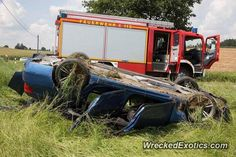BMW M-Series M5 F10 crashed in Germany