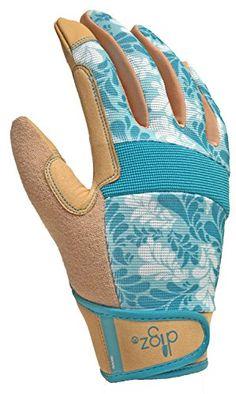 Briers Gardening Gloves The Grid Machine Washable Medium Hook /& Loop Fastening