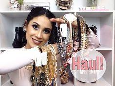 COMO COMBINAR MAXI COLLARES / MODA 2016 ♥ moda y maquillaje - YouTube