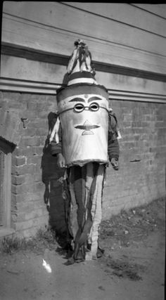Strange Halloween Costume from 1910