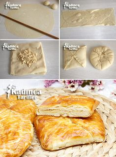 Kars Ketesi Rezept wie man a Armenian Recipes, Turkish Recipes, Ethnic Recipes, Pastry Recipes, Cooking Recipes, Bread And Pastries, Pastry Cake, Dessert, Food And Drink