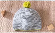 Knitted Hats, Crochet Hats, Bonnet Crochet, Diys, Couture, Knitting, Creative, Toddlers, Children