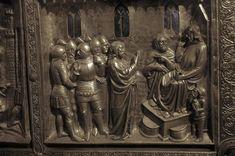 Pistoia Altar of St James From Duomo di Pistoia, Pistoia, Tuscany, Włochy Dating 1380-1400
