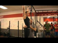 CrossFit - Kipping Pull-ups with Jeff Tucker This video will help you get the foundational moves to do the pull-up