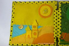 Rainbow quiet book - children's fabric busy book, развивающая книжка