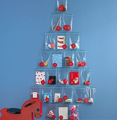 quick DIY advent calendar