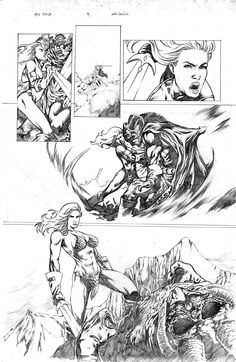 Red Sonja tryout page 3