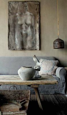 wabi sabi living space