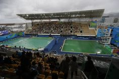 Australian water polo players left with 'stinging eyes'