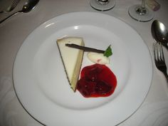 New York cheesecake onboard #Princess #Cruise