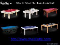 tables de billard convertibles de luxe moderne vendre chevillotte