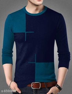 Tshirts Elegant Cotton Men Tshirt Fabric: Cotton Sleeve Length: Long Sleeves Pattern: Colorblocked Multipack: 1 Sizes: S (Chest Size: 39 in Length Size: 26.5 in)  XL (Chest Size: 44 in Length Size: 28.5 in)  L (Chest Size: 42 in Length Size: 27.5 in)  M (Chest Size: 40 in Length Size: 27 in)  XXL (Chest Size: 46 in Length Size: 28.5 in)  Country of Origin: India Sizes Available: S, M, L, XL, XXL *Proof of Safe Delivery! Click to know on Safety Standards of Delivery Partners- https://ltl.sh/y_nZrAV3  Catalog Rating: ★4 (18738)  Catalog Name: Trendy Designer Men Tshirts CatalogID_1050073 C70-SC1205 Code: 943-6590692-