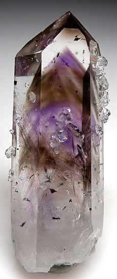 1.1  Analcime (Hydrated Sodium Aluminum Silicate) - Analcime on Quartz