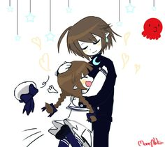 Meikai and wadanohara,doodle by moonplata.deviantart.com on @DeviantArt