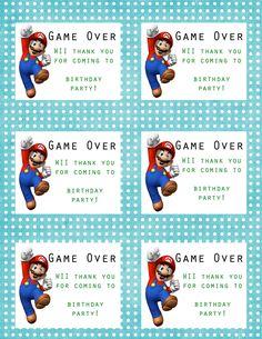 THE Mario party...