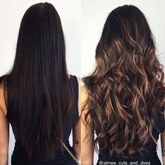 Hottest Balayage Hair Color Ideas - Balayage Hairstyles for F .- Heißesten Balayage Haarfarbe Ideen – Balayage Frisuren für Frauen Hottest Balayage Hair Color Ideas – Balayage Hairstyles for Women - Brunette Hair With Highlights, Black Highlights, Dark Hair With Caramel Highlights, Caramel Balayage Highlights, Blonde Hair, Brunette Color, Highlights For Brunettes, Dark Hair With Lowlights, Chestnut Highlights