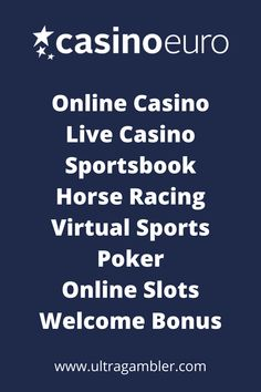CasinoEuro is a European online casino featuring an amazing first deposit bonus, fantastic slots, superb table games and an incredible live casino. Top Casino, Live Casino, Top Online Casinos, Casino Reviews, Casino Games, Table Games, Slot, Euro, The Incredibles