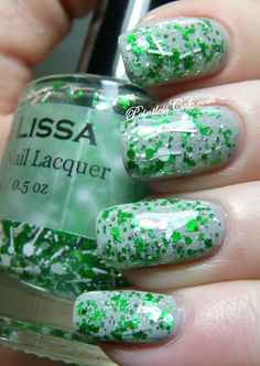 St. Patrick's Day nails   Pointless Cafe