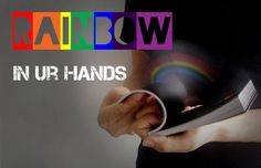 RAINBOW IN UR HANDS #Creative #flip book #Rainbow Rainbow, Hands, Creative, Books, Rain Bow, Rainbows, Libros, Book, Book Illustrations