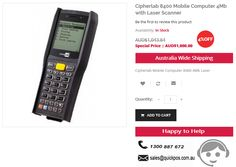 Looking for Cipherlab 8400 Mobile Computer 4Mb with Laser Scanner in Canbeera? Quickpos based in Sydney deals with high quality mobile computers & POS Systems only in Australia..!  http://www.quickpos.com.au/cipherlab-8400-4mb-laser