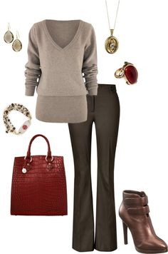 """""""Winter Work"""" by jlucke on Polyvore"""