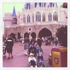The gang at Disney World.