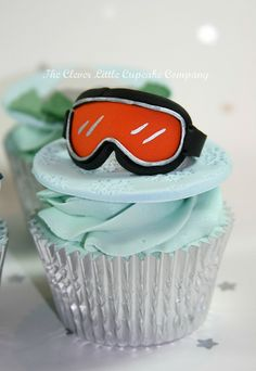 I love this! Ski Goggles Cupcake by The Clever Little Cupcake Company (Amanda), via Flickr