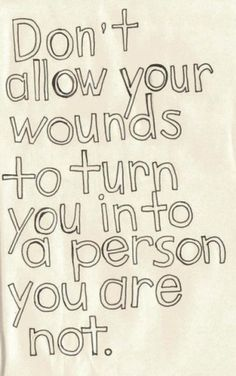 Wounds need to be treated! like immediately~~