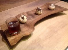 Natural Walnut Serving Tray  foodie gift  by TheGardenCraftsman, $65.00