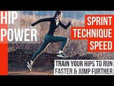 Train Your Hips to Run Faster & Jump Further Speed Training, Weight Training, Training Workouts, Track And Field Events, Track Field, How To Sprint Faster, Sprinter Workout, Baseball Hitting Drills, Running Drills