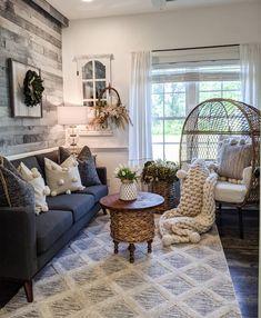 Rooms Home Decor, Living Room Decor, Diy Home Decor, Bedroom Decor, Living Rooms, Living Spaces, Master Bedroom, Flex Room, Beautiful Farm
