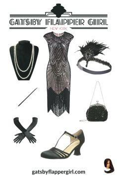 We have the best Gatsby Attire for Females. The latest Great Gatsby Outfits: Great Gatsby Dresses & Plus Size, shoes & accessories Great Gatsby Outfits, Great Gatsby Prom Dresses, 1920s Party Dresses, 20s Outfits, Party Outfits For Women, Great Gatsby Fashion, Gatsby Theme Dress, 1920s Fashion Party, Roaring 20s Fashion