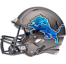 Go Lions Detroit Lions Football, American Football League, Detroit Sports, Nfl Football Teams, Football Design, National Football League, Detroit Lions Helmet, Cool Football Helmets, Football Images
