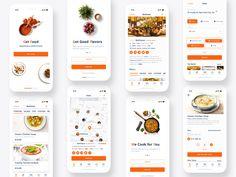 Food Delivery App. UI/UX design on Behance