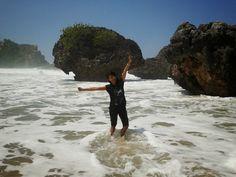 One of beach in Yogyakarta