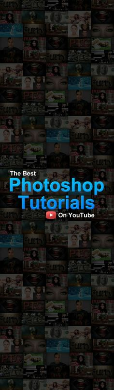 The Best Photoshop Video Tutorials on YouTube! Check It Out! #Photoshop