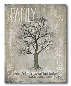 This 'Family' Wrapped Canvas is perfect! #zulilyfinds