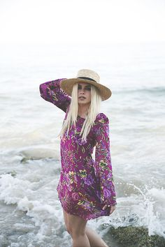 Get this look: http://lb.nu/look/7569522  More looks by Inês M: http://lb.nu/imm  Items in this look:  Pretty Attitude Dress, H&M Hat   #bohemian #casual #chic
