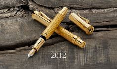 2012 - Oak Wood - Natures Luxury - Pen of the Year - Graf von Faber-Castell