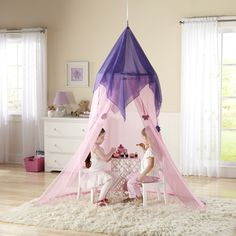 Discovery Kids Fairy Tale Princess Canopy by Discovery Kids & Discovery Kids Indoor and Outdoor Princess Play Castle by ...