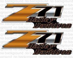 Z71 Truck Harley Motorcycle Bike Decals