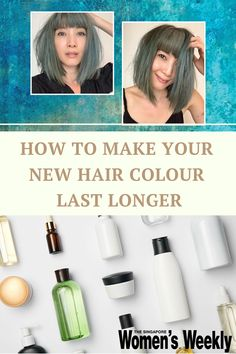 From Sarah Michelle Gellar, Dua Lipa, and now Jeanette Aw, celebrities of the like are all taking the jump to try bold and vibrant hair colours. And if you're thinking of doing the same, keep in mind that half the work is in making sure you're doing the most to keep your hair colour going strong.Find out more. #hairgoals #dyedhair #hairhacks Vibrant Hair Colors, New Hair Colors, Jeanette Aw, Asian Hair Care, Deep Cleansing Shampoo, Ombre Technique, Dyed Hair Purple, Color Melting, One Hair